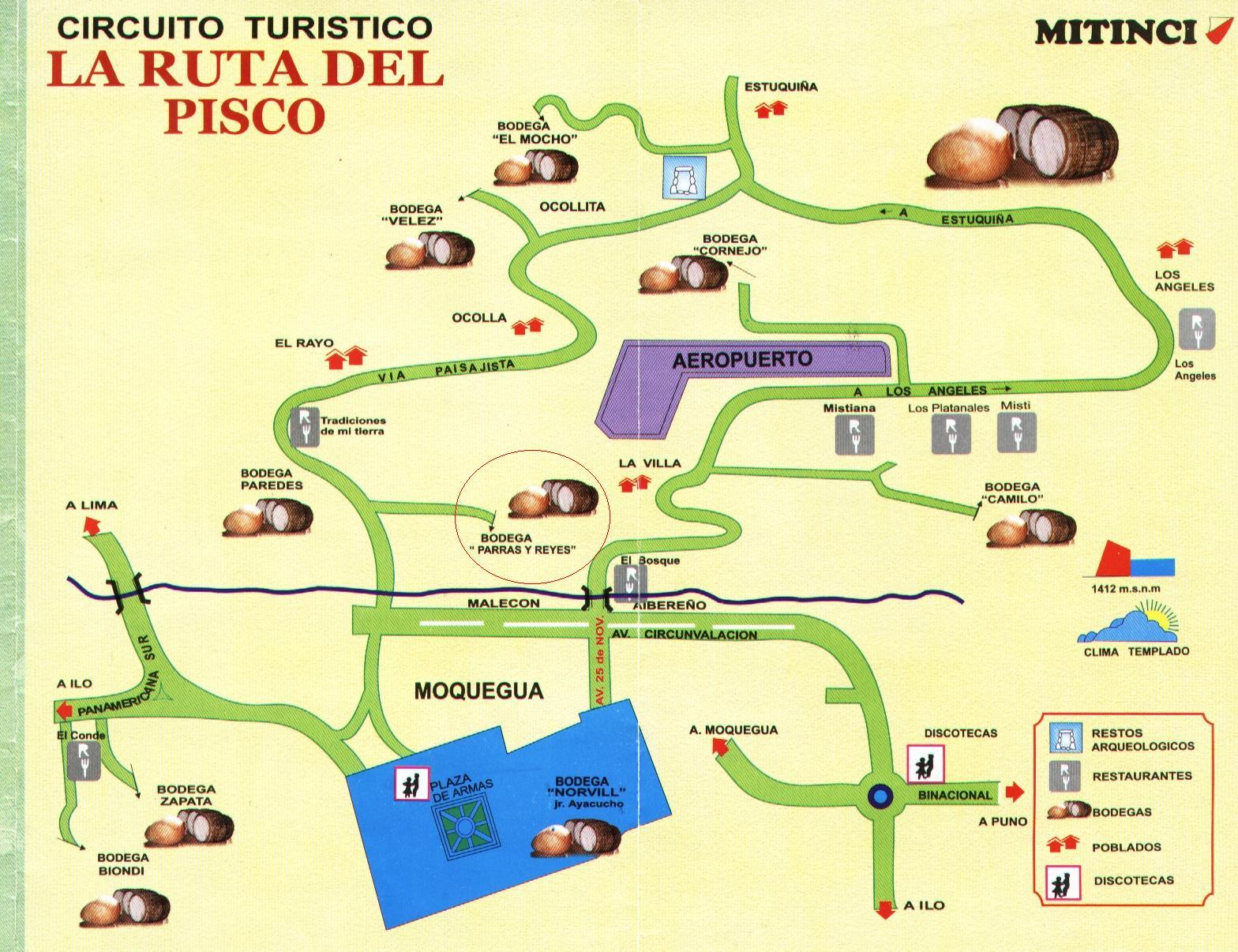 Circuito Turístico la Ruta del Pisco - Moquegua Perú ( HagaClick ...